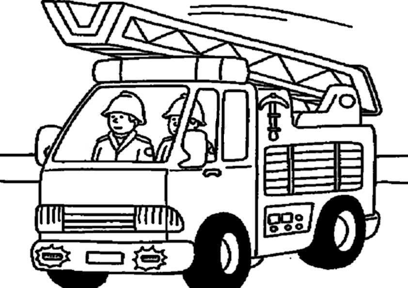 Feuerwehr Malvorlagen Ausdrucken | My blog