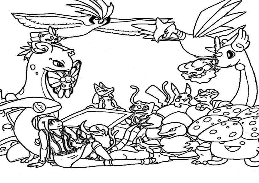 ausmalbilder pokemon-15