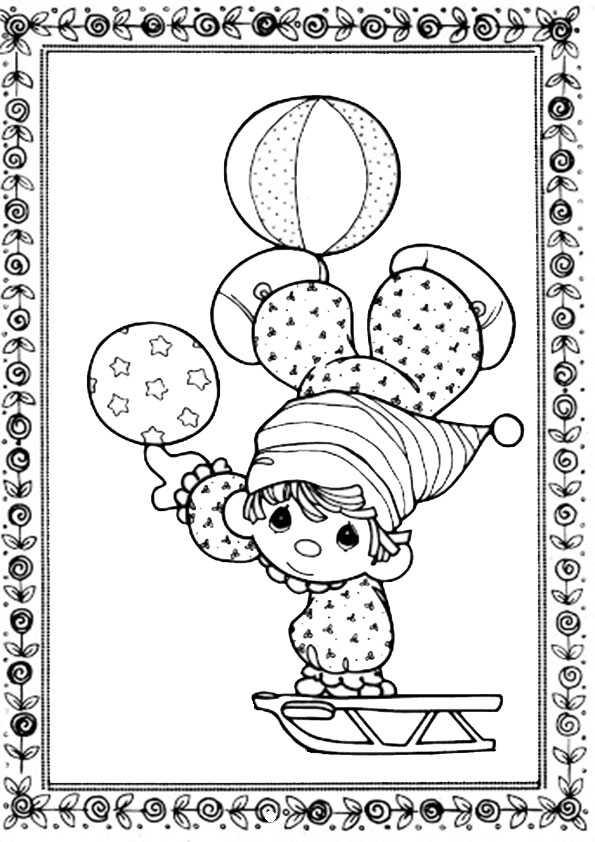 ausmalbilder clown-8