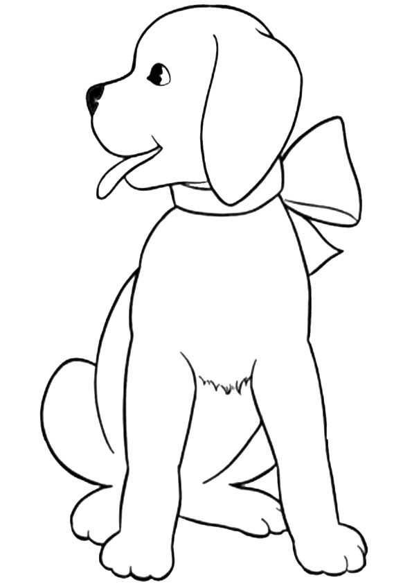 ausmalbilder hunde-5