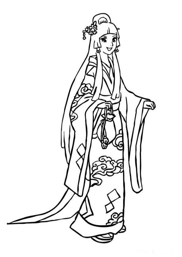 ausmalbilder japanisch -4