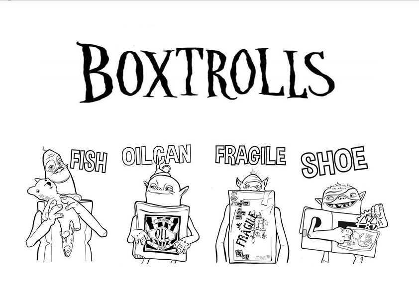 ausmalbilder die boxtrolls -9