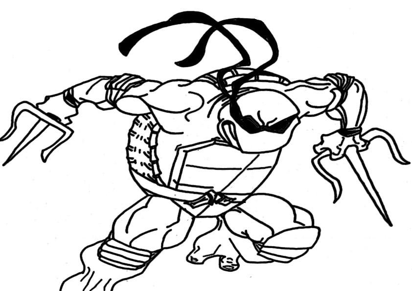 ausmalbilder ninja turtles -12