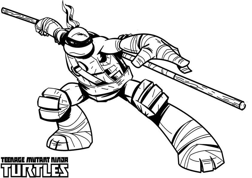 ausmalbilder ninja turtles -15