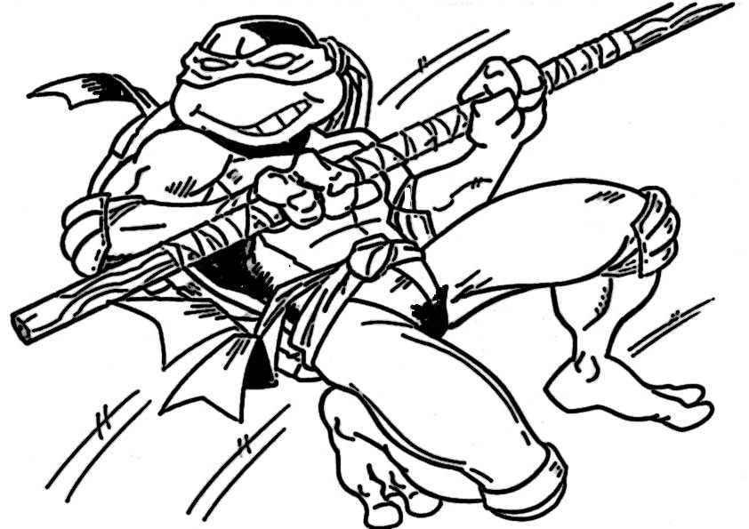 ausmalbilder ninja turtles -17