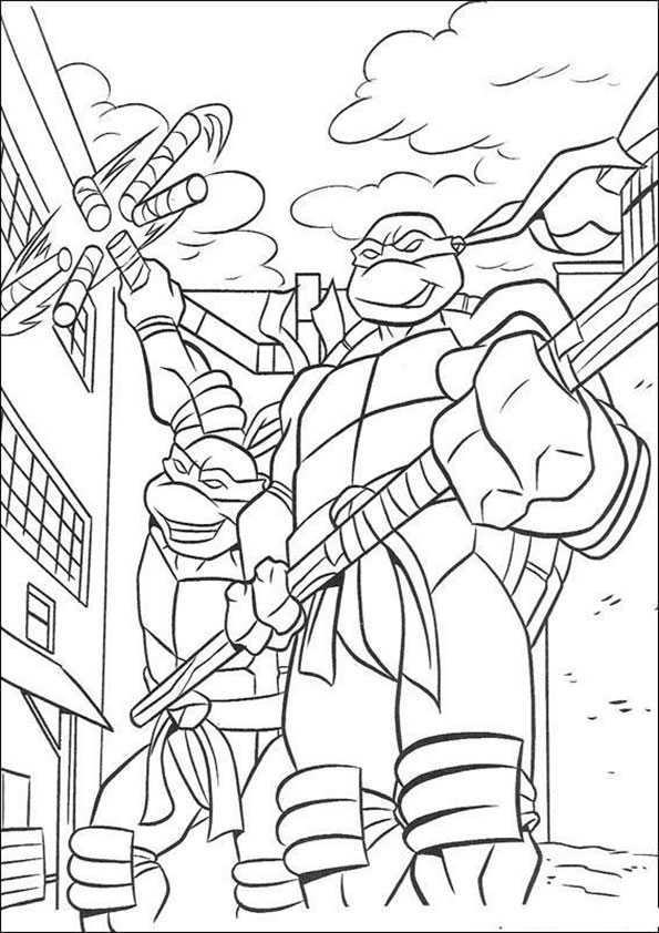 ausmalbilder ninja turtles -4