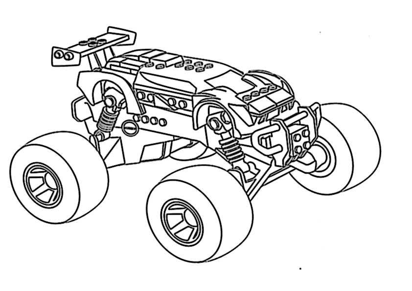 ausmalbilder monster trucks