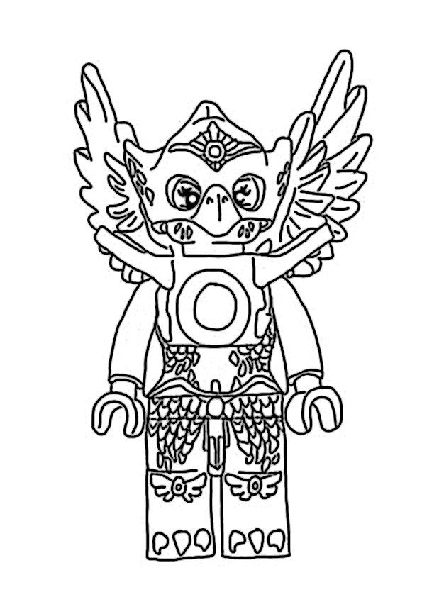 ausmalbilder  lego chima -14