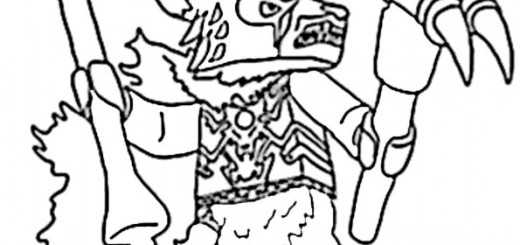 ausmalbilder lego chima -17