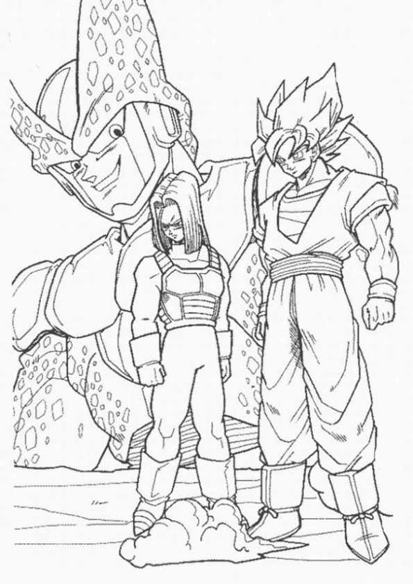 ausmalbilder dragon ball-12