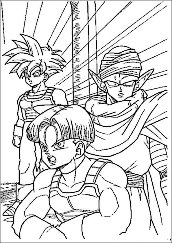 ausmalbilder dragon ball-3