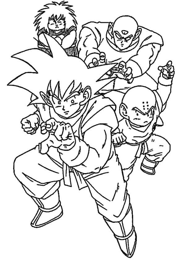 ausmalbilder  dragon ball-6