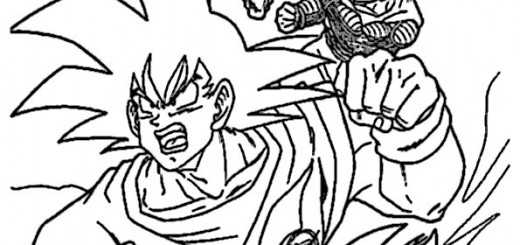ausmalbilder dragon ball-5