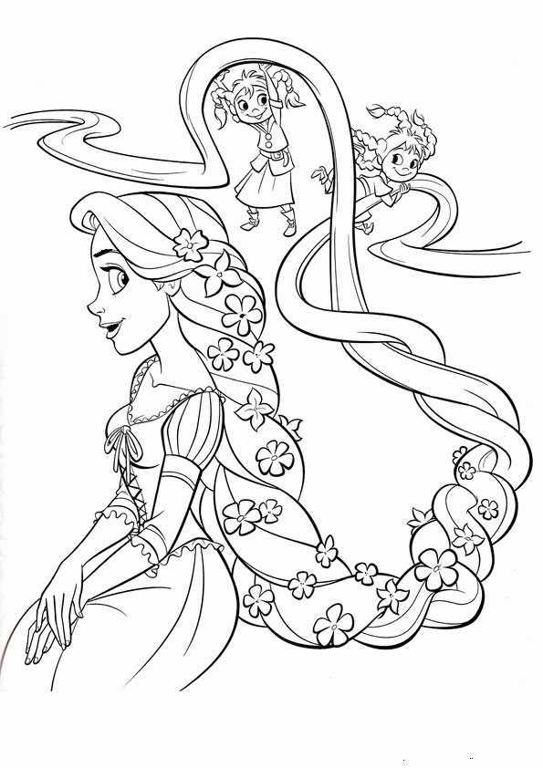 Malvorlagen Prinzessin Rapunzel | My blog