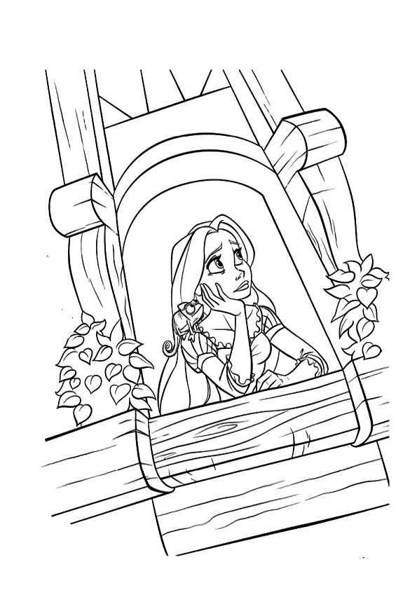 Ausmalbilder Rapunzel 18 Ausmalbilder Malvorlagen
