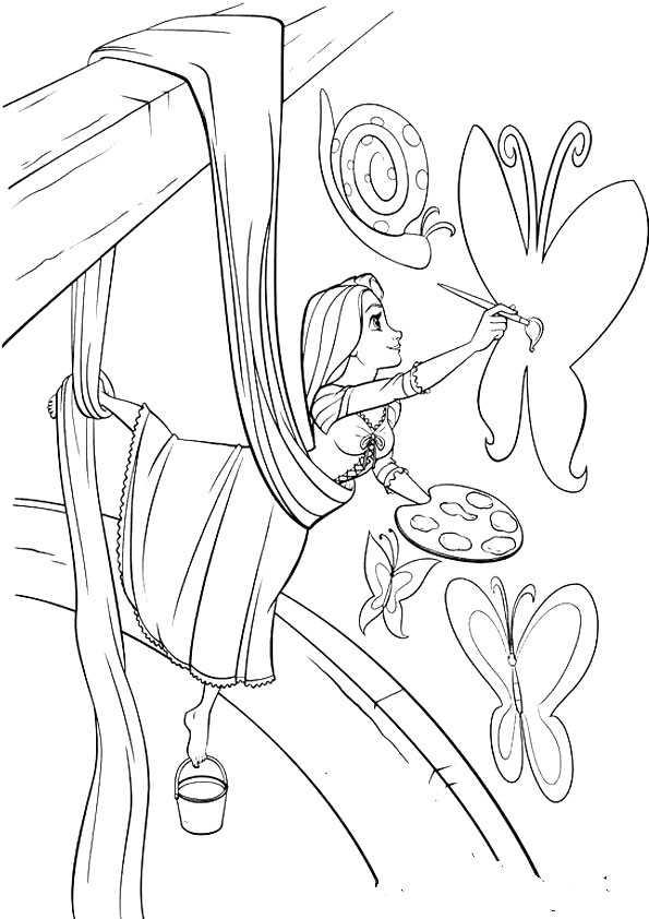 ausmalbilder  rapunzel-19