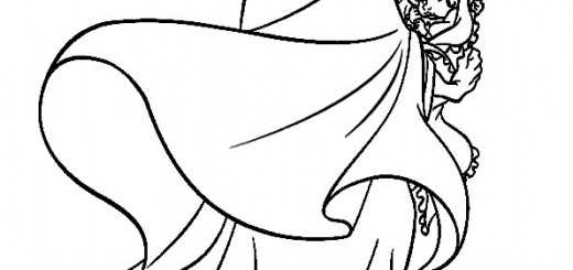 ausmalbilder rapunzel-25