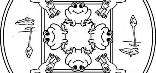 frosch ausmalbilder-15
