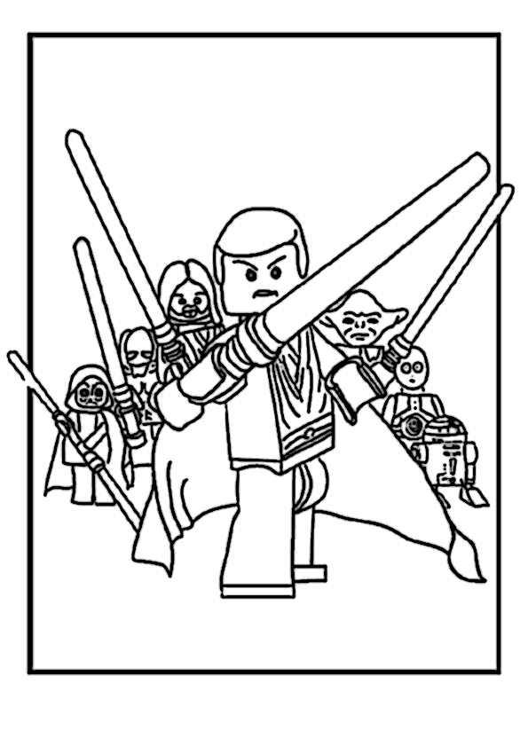 appspiele.review | 42 Ausmalbilder von Lego Ninjago