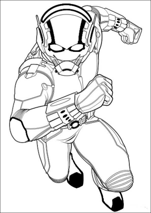 ausmalbilder  ant-man-12