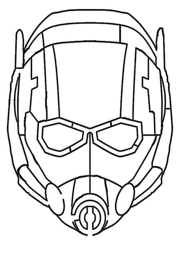 ausmalbilder  ant-man-7