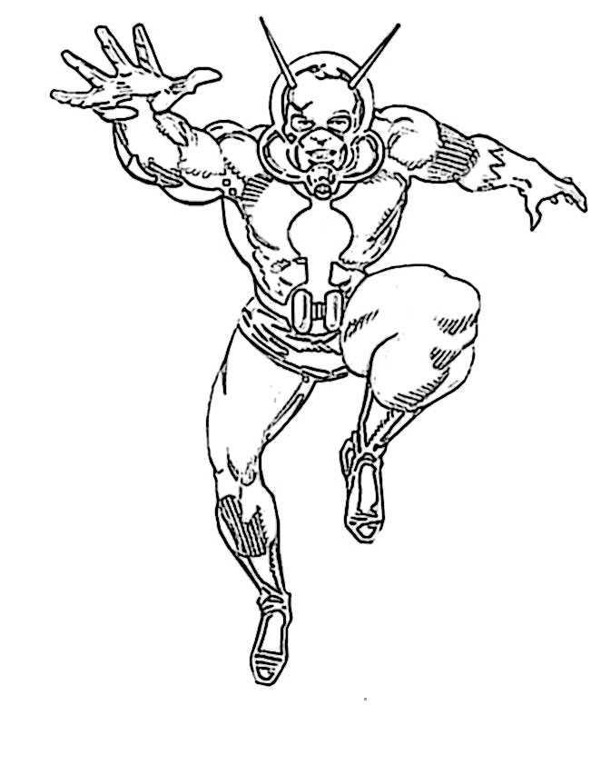 ausmalbilder  ant-man-9