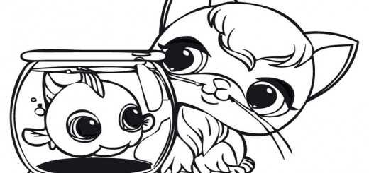 ausmalbilder littlest pet shop-2