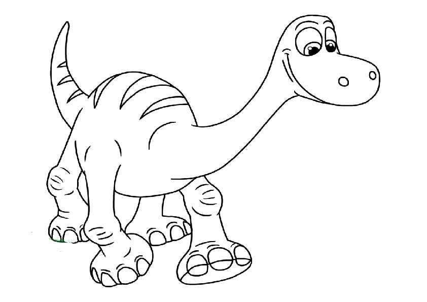 der gute dinosaurier -25 | Ausmalbilder Malvorlagen