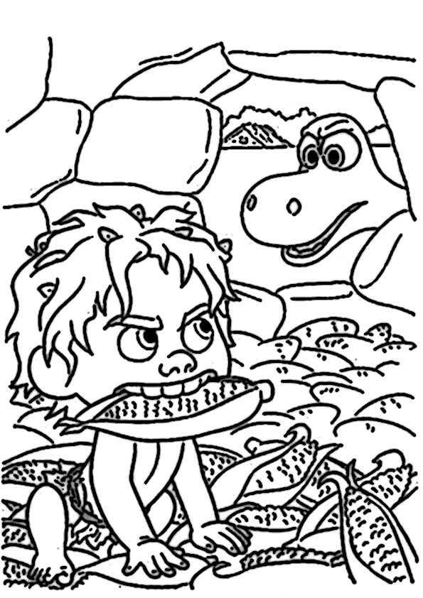 ausmalbilder der gute dinosaurier-27