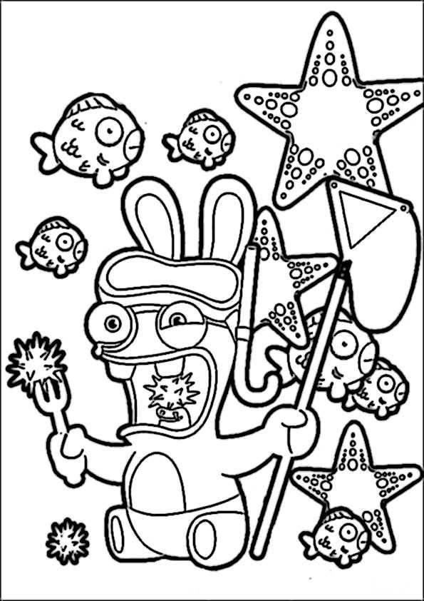 ausmalbilder rayman rabbids -12