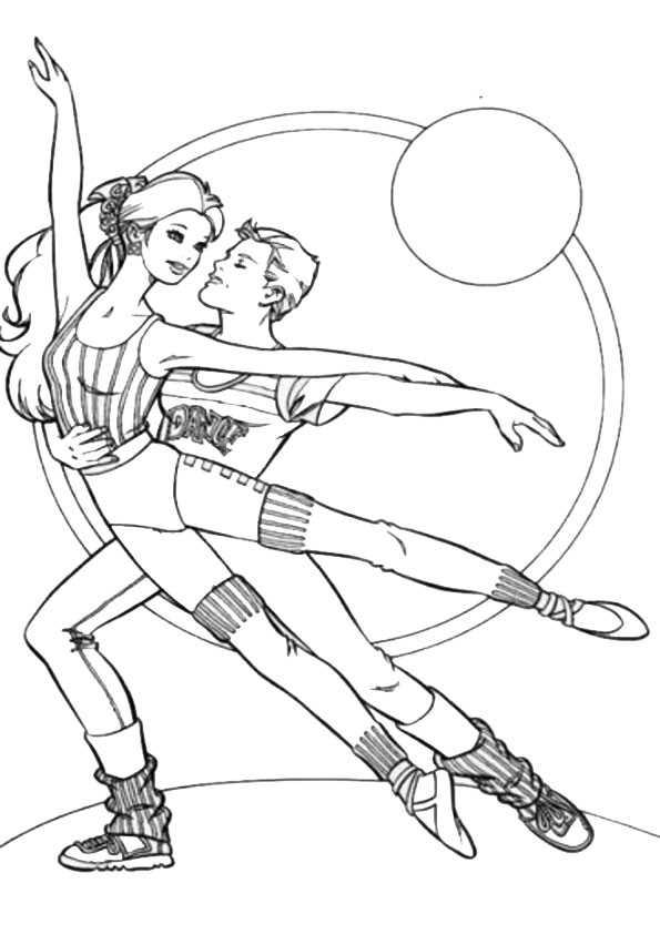 ausmalbilder ballett-6