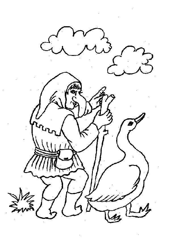 ausmalbilder märchenbilder -19