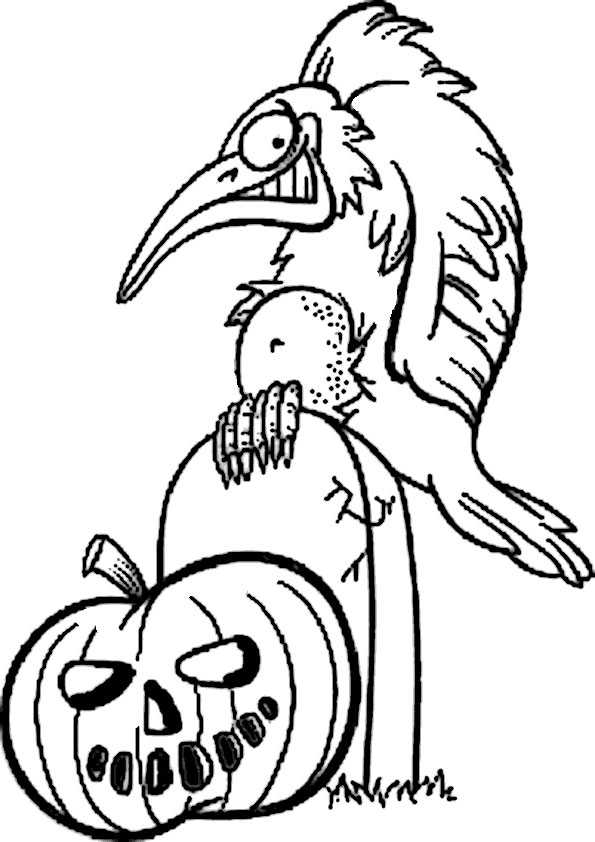 ausmalbilder halloween -59