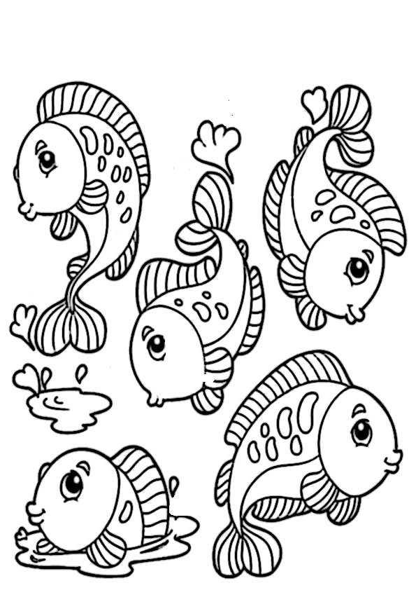 ausmalbilder fische-10