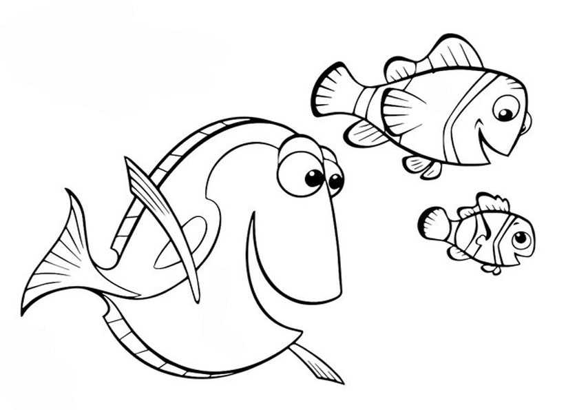 ausmalbilder fische-11