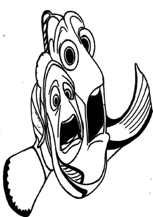ausmalbilder fische-16