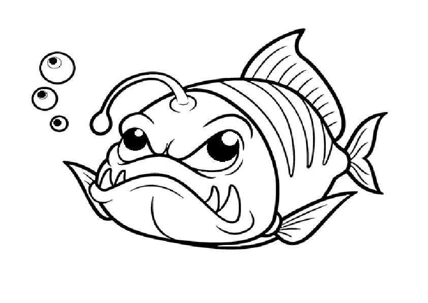 ausmalbilder fische-3