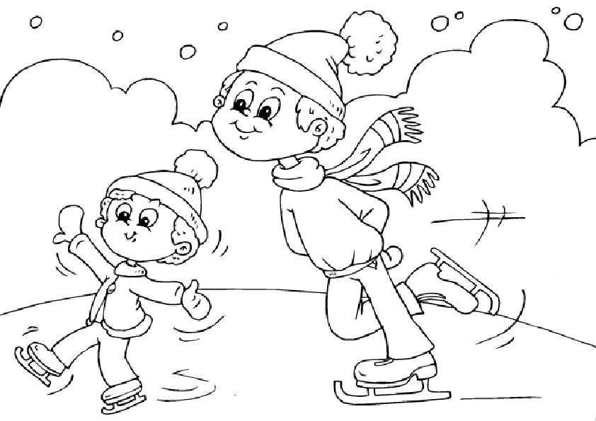 ausmalbilder winter.21