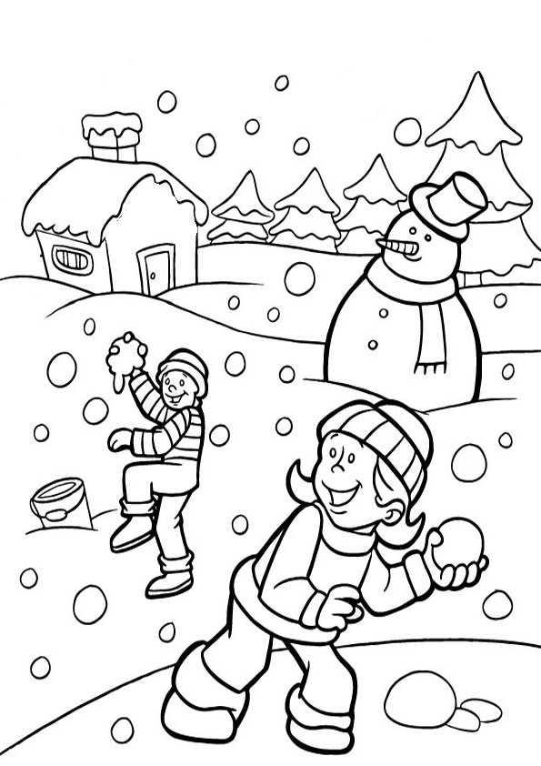 ausmalbilder winter-7