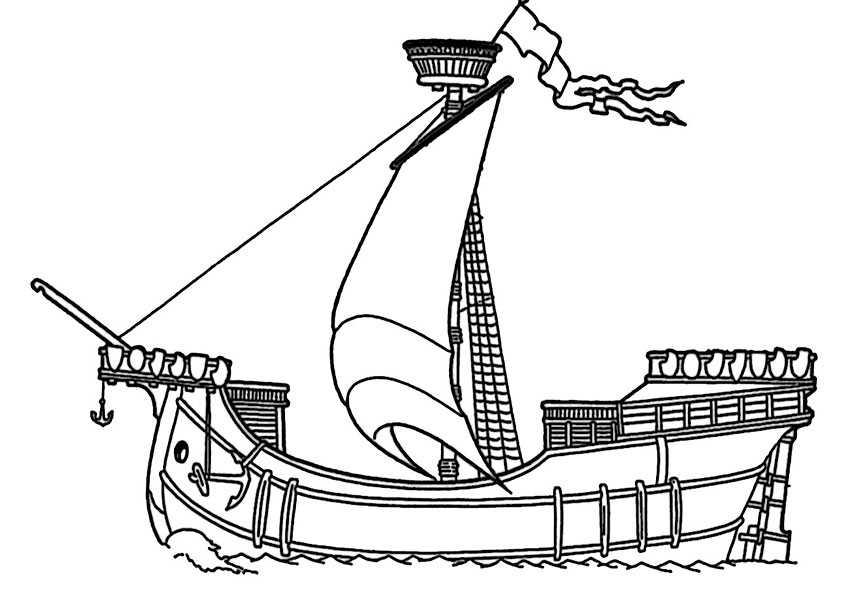 ausmalbilder schiffe-13