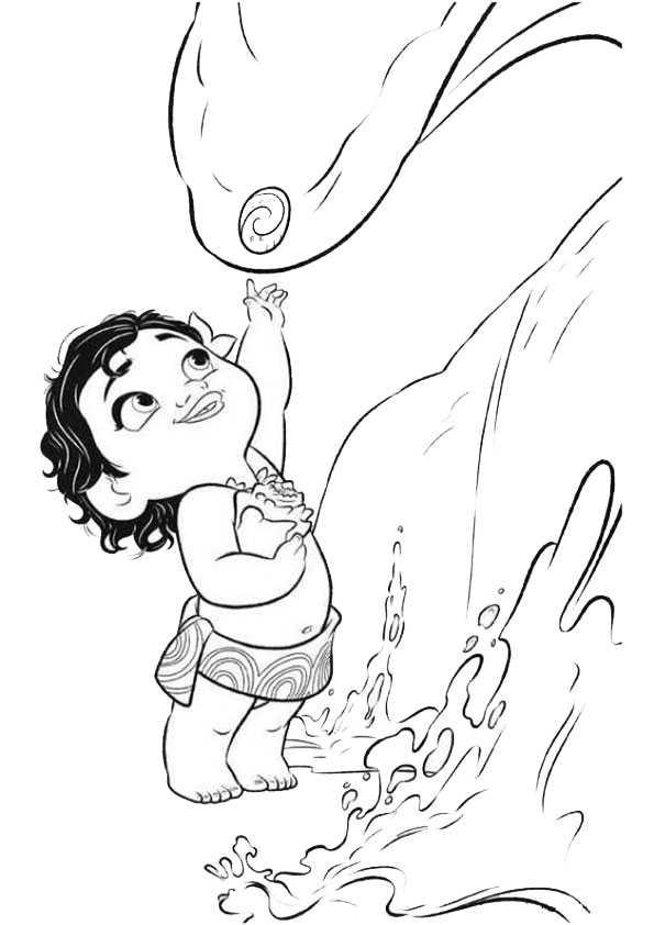 Vaiana 3 Ausmalbilder Und Basteln Mit Kindern
