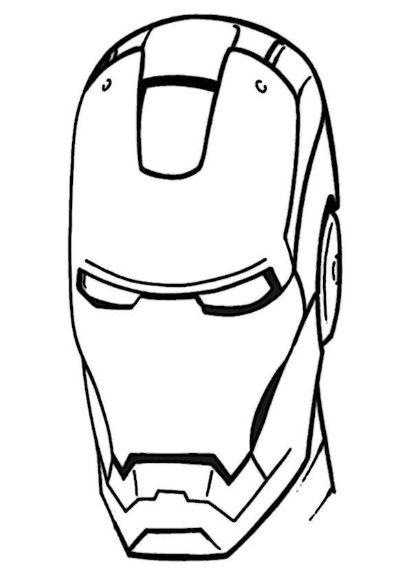 ausmalbilder ironman -12