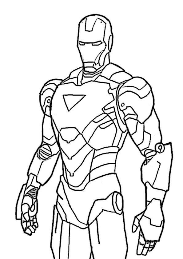 ausmalbilder ironman -5