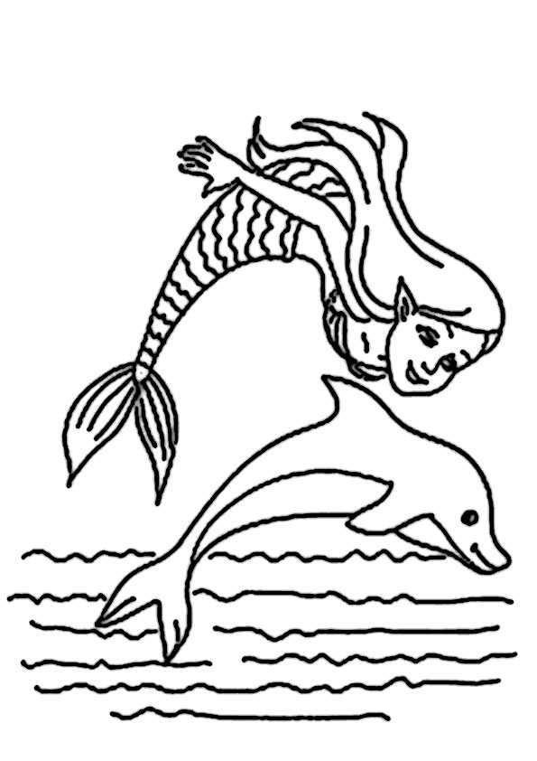 ausmalbilder meerjungfrauen-9