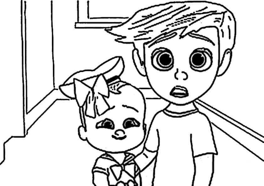 ausmalbilder  the boss baby-10
