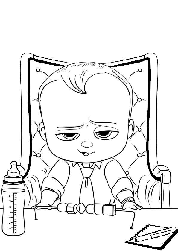 ausmalbilder the boss baby-12