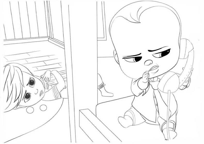 ausmalbilder the boss baby-26