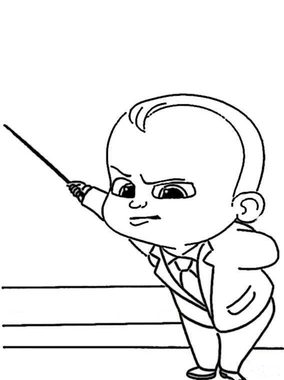 ausmalbilder the boss baby-35