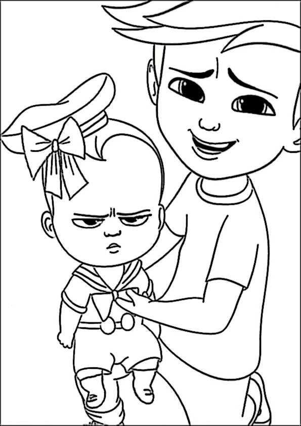 ausmalbilder the boss baby-40