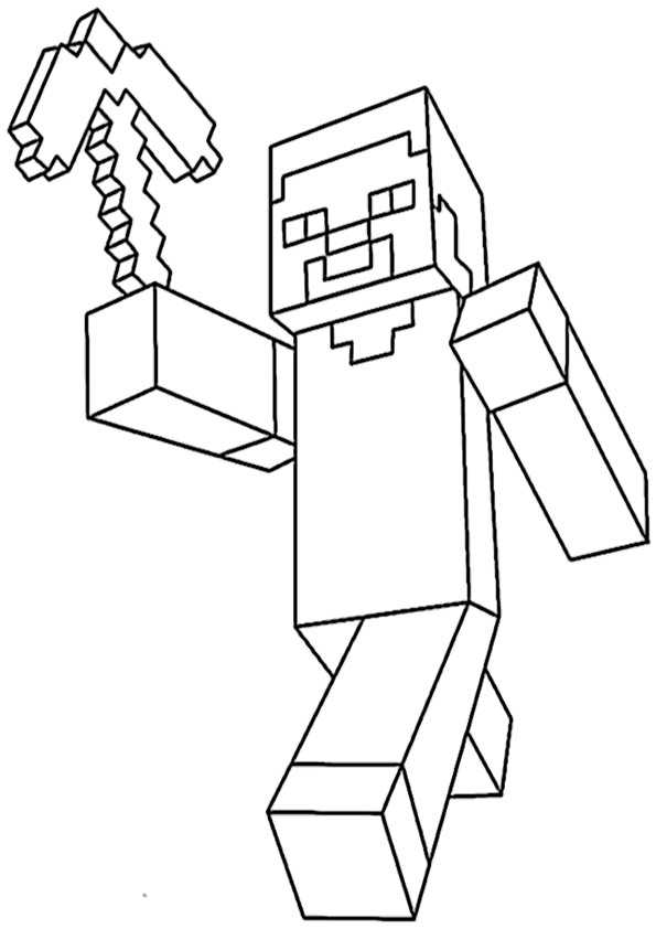 Malvorlagen Zum Ausdrucken Minecraft My Blog